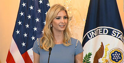 American Hindu Coalition members part of the US delegation to GES 2017 Summit headed by Ivanka Trump
