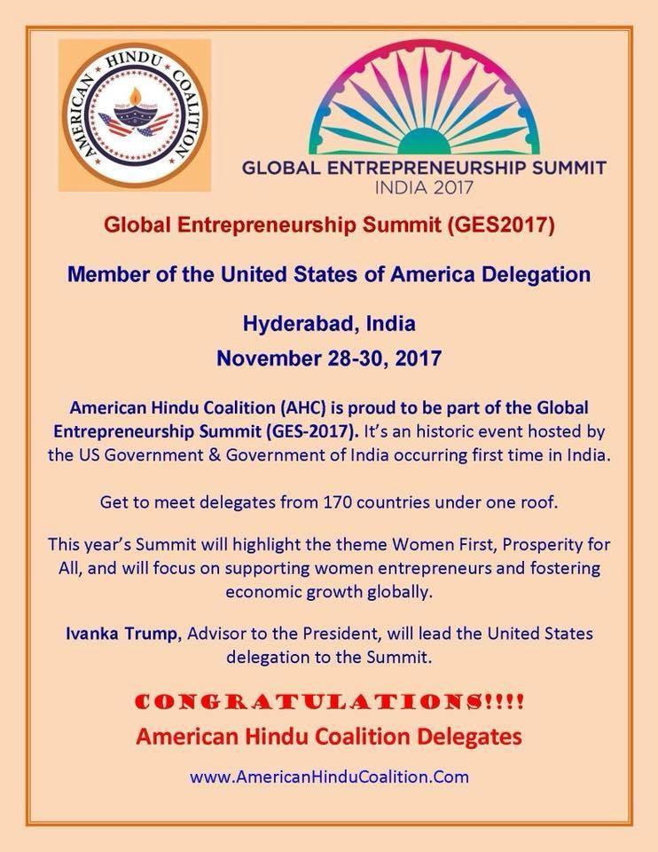 Global Entrepreneurship Summit (GES2017)