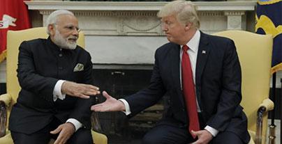 Trump and Modi strike an alliance against terrorism, North Korea