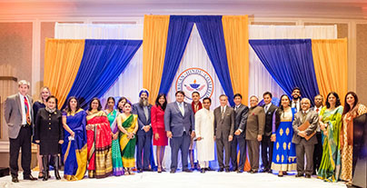 American Hindu Coalition Celebrates First Anniversary At A Gala Awards Dinner