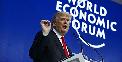 President Trump wows Hindu American's attending Davos Conference.