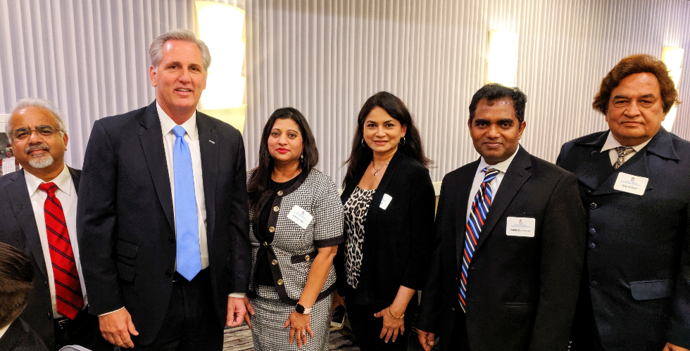 AHC MEETS WITH HOUSE REPUBLICAN LEADER KEVIN MCCARTHY