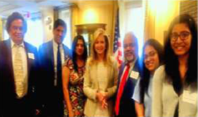 AMERICAN HINDU COALITION MEETS WITH SENATOR MARSHA BLACKBURN (R-TN)