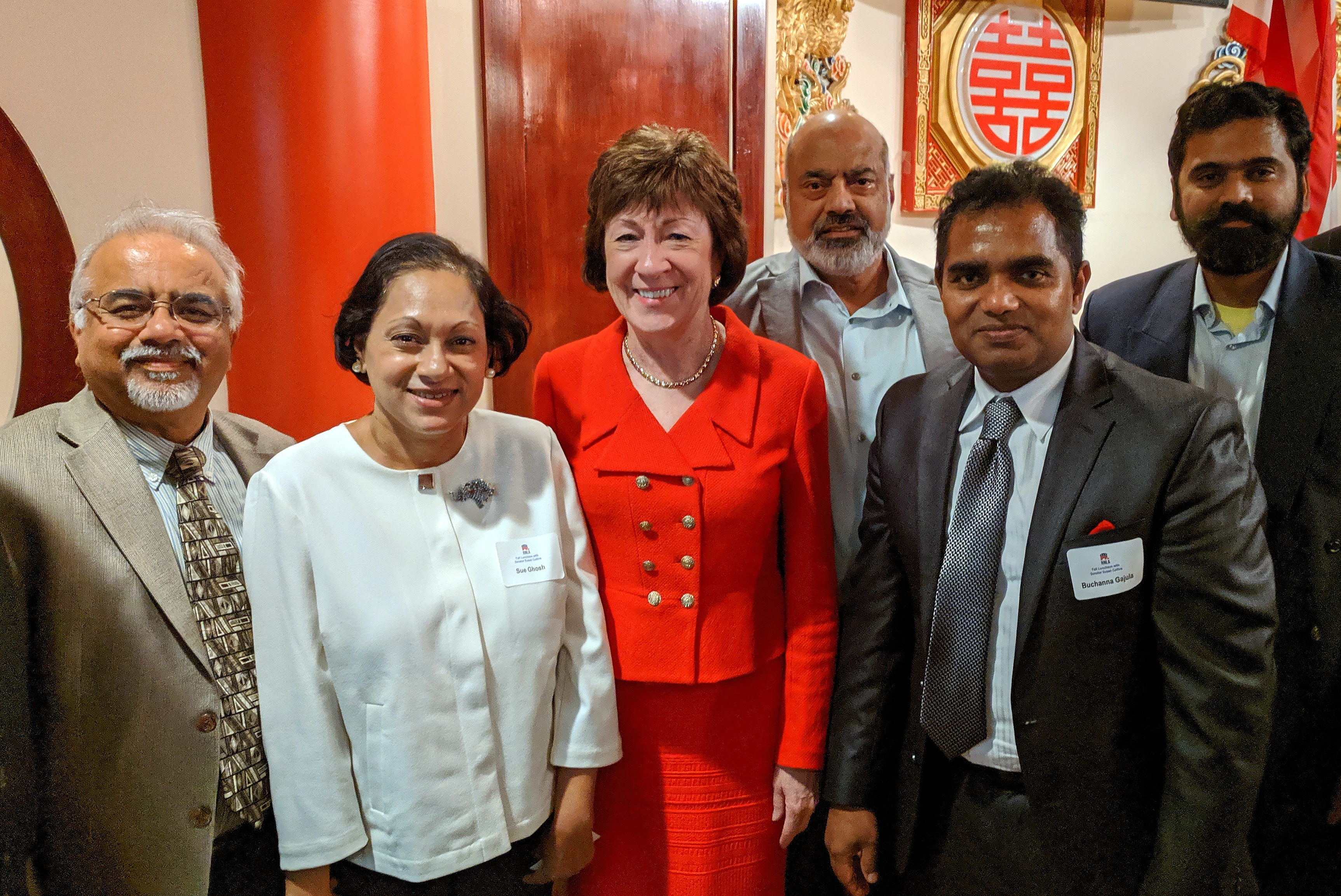 AMERICAN HINDU COALITION MEETS WITH SENATOR SUSAN COLLINS